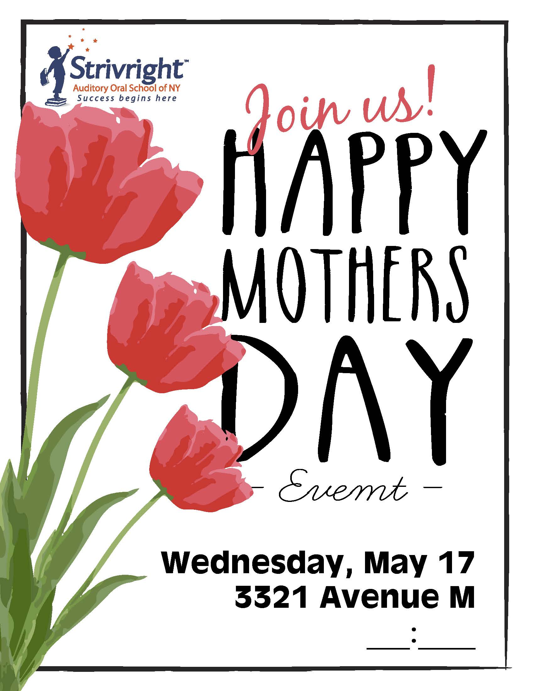 Mothers Day Event | Strivright